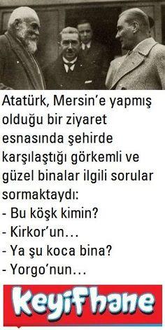 Mustafa Kemal'in Mersin Anısı #MustafaKemal #Atatürk #Mersin #Anı
