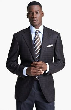 Canali Classic Fit Plaid Sportcoat | Nordstrom