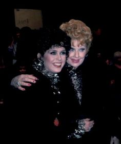 Lucy with Marie Osmond