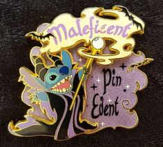 9654 - DLRP - Stitch as Maleficent | Released: 05/28/2005 - Limited Edition 800