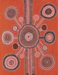 Uta Uta Tjangala, TINGARI CYCLE  77 x 59cm