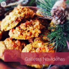 Estas galletas navideñas sanas son una delicia para preparar en familia en esta época de fiestas. Sin gluten, sin lácteos.