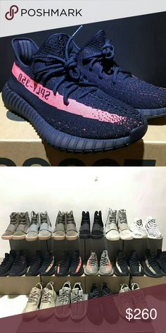 2d5cf4cb4ee69 Yeezy boost sply 350 black pink men women s Yeezy Shoes Athletic Shoes