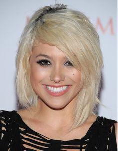 Short Straight Hairstyles 2012