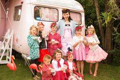 Rockabilly vintage caravan party - awwwwwwwww