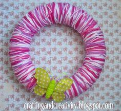 Cute Yarn Wreath