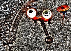 "Rua da Praia - POA - RS - Brasil  -  Coleção ""Port0nírico"". Impressão 50x70 com pigmento mineral em papel somerset velvet texturizado 255g. Somerset, Cufflinks, Paintings, Street, Brazil, Paper, Paint, Painting Art, Painting"
