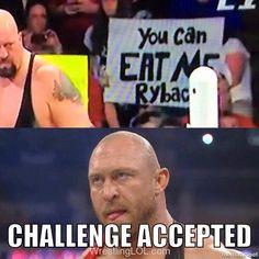 Funny Ryback sign
