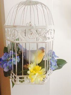 Decorate a bird cage/bird by valerie Parr Hill