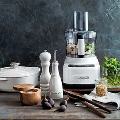 Cuisinart Elemental 8-Cup Food Processor   Williams-Sonoma