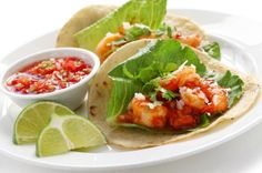 A very yummy recipe.. Shrimp Tacos Recipe from Grandmothers Kitchen.