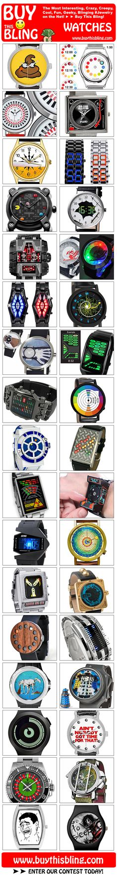 Bling Bling Watches from Buy This Bling!