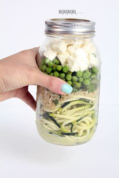 I would love if you did this every week. I am a Mason Jar Meal veteran, LOL But it never occurred to me to use zoodles! I made one last nigh...