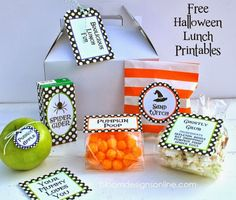 Creative Party Ideas by Cheryl: Halloween Lunch Ideas