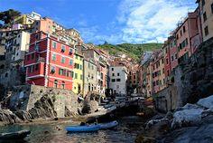 Wandering the streets of Riomaggiore, Cinque Terre, Italy.