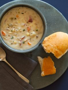 New England Clam Chowder | Soup recipe | Spoon Fork Bacon