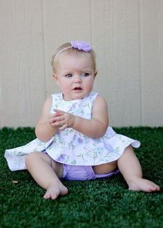 Create Kids Couture - Halle's Baby Romper PDF Pattern, $7.00 (http://ckcpatterns.com/halles-babies.html)