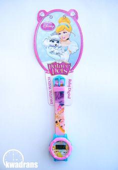 Original DISNEY watch for kids - Disney PRINCESSES wristwatch with Cinderella and Rapunzel #watch #disney Oryginalny zegarek Disneya dla dzieci - Zegarek Księżniczki z Kopciuszkiem i Roszpunką