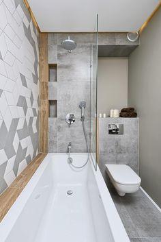 Grey bathroom floor tiles in unusual interior furniture, grey bathroom floor tiles Bathroom Lighting Design, Modern Bathroom Design, Bathroom Styling, Bathroom Interior Design, Interior Paint, Bathroom Floor Tiles, Bathroom Colors, Boho Bathroom, Small Bathroom