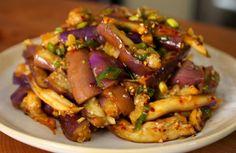 steamed_eggplant (gaji-namul: 가지나물)