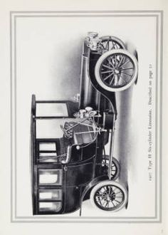 Franklin motor-cars : 1907 / H.H. Franklin Manufacturing Company. 1907.Metropolitan Museum of Art (New York, N.Y.).  Thomas J. Watson Library.  Trade Catalogs. #luxury #old car | It is all about the car.