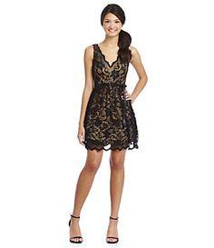 B. Darlin Scallop Lace Party Dress | Dillard's Mobile