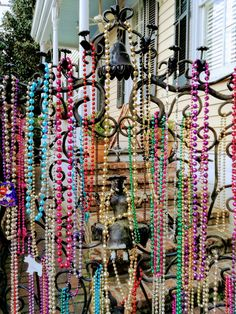 Inspiration #couture à la Nouvelle Orléans ! / Sewing inspiration from New Orleans #MarquiseElectrique #MardiGras #NOLA #Carnaval