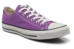 Mooie Sneakers Chuck Taylor All Star Ox W van Converse (Violet) Sneakers van het merk Converse voor Dames . Uitgevoerd in Violet gemaakt van Textiel.