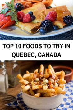 Sweet or savory, you'll find it in Quebec cuisine. Here are 11 traditional Quebec foods and the best places in Quebec City and Montreal to find each one. Pvt Canada, Visit Canada, Canada Trip, Canada Eh, Canada Cruise, Montreal Food, Montreal Travel, Montreal Quebec, Canadian Travel