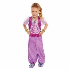 Disfraz De Shimmer And Shine Nickelodeon Shine - $ 820.00