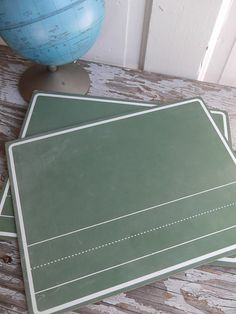 Set of Two School House Chalkboards