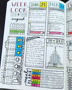Daily Spread - August 2016 Week 4 #bujojunkies #bujo #bulletjournal #bullet #journaling #journal #tracker #habittracker #habit #bujotracker #planwithme #planwithmechallenge #weightloss #weighttracker #daily #dailydoing #dailytracker #leuctturm1917 #bulletjournallove