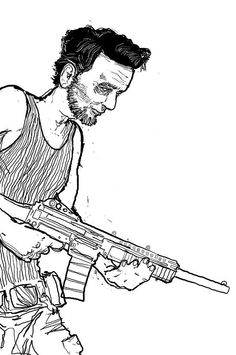 Abe Lincoln from the Indie Comic Miserable Americans.