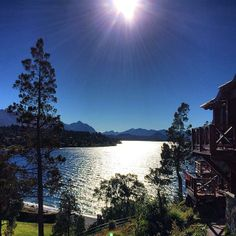 San Carlos de Bariloche in the foothills of the #Andes would be a marvelous place to wake up to.    Photo courtesy of nlptrekker on Instagram.