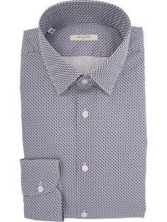 Printed Del Siena Cotton Shirt