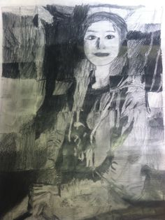 7th Grade Self-Portrait: Ebony Pencil. Students researched and selected one portrait from an old master such as Diego Velazquez, Francisco Goya, & Caravaggio. Students were then photographed in the same pose in order to create a contemporary self-portrait.