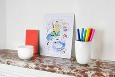 OMY coloring puzzles