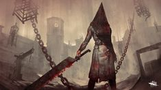 Red Pyramid, Pyramid Head, Michael Myers, Resident Evil, Video Game Art, Video Games, Silent Hill Game, Video X, Latest Hd Wallpapers