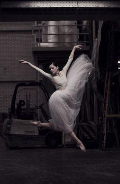 Megan Zimny Gray ~ ethereal warehouse dance