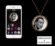 Fashion meets technology. Een ketting die elk moment kan worden veranderd door middel van een app. Hebben!  #gadget #trendland #rebelgadget #bisouwears #houseofrebels Rebel, Gadgets, Apps, House, Home, Haus, App, Gadget, Houses