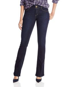 b5dd6870b02 Shop a great selection of Democracy Democracy Women s Ab Solution Itty  Bitty Boot Leg Jean. Find new offer and Similar products for Democracy  Democracy ...