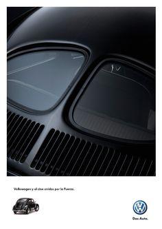 Split Window Bug matte black