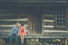 Cabin Engagement photo