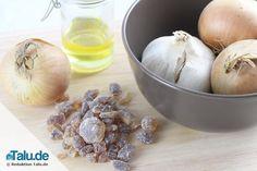 Hustensaft-Rezept: Zwiebelsaft selber machen