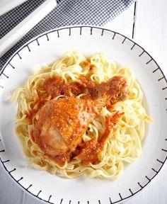 Κοτόπουλο με πάπρικα και γιαούρτι