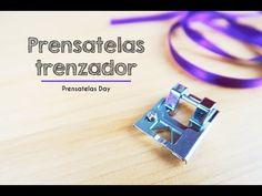PRENSATELAS TRENZADOR PARA PASAMANERIA / PRENSATELAS DAY - Skarlett Costura