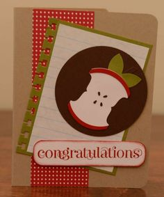 Back to School Greeting Card by SnippetsByDesign - Cards and Paper Crafts at Splitcoaststampers