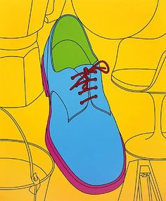 Similarities and differences.  Michael Craig-Martin.