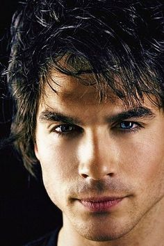 Damon from the vampire diaries, he's so dannggg delicious! *lusting*