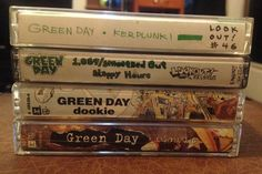 Green Day album(s) on cassette (1,039/Smoothed Out Slappy Hours, Kerplunk, Dookie, Insomniac, Nimrod, Warning, International Superhits, and/or Shenanigans) No pirated copies plz
